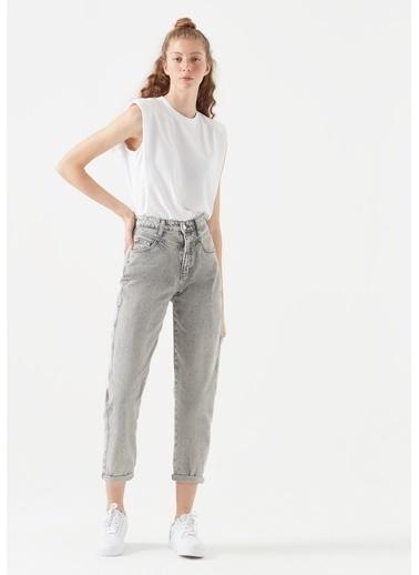 Mavi Jean Pantolon | Lola - Mom Gri